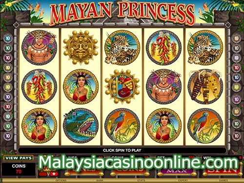 玛雅公主老虎机 (Mayan Princess Slot)
