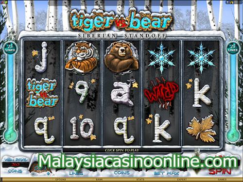 老虎机和熊老虎机 (Tiger and Bear Slot)